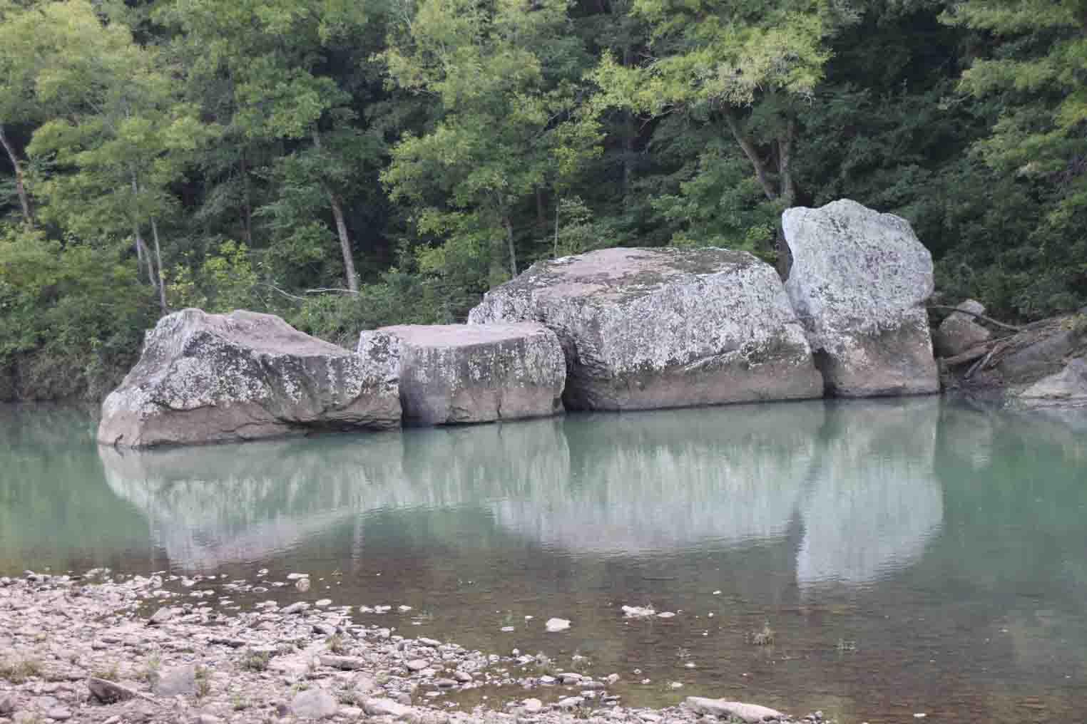 big piney creek, long pool recreation area, arkansas ozarks