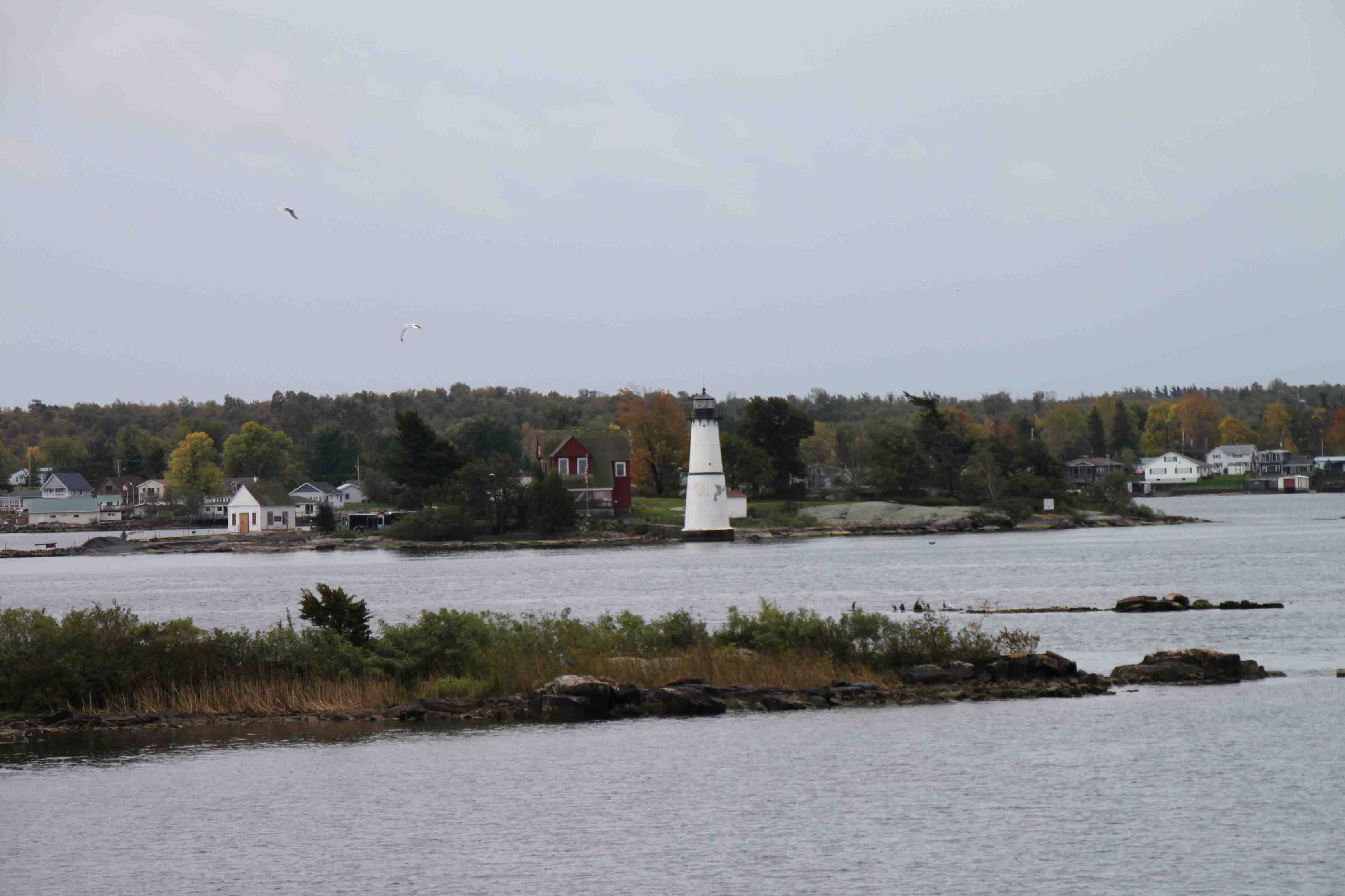 thousand islands on the scenic seaway trail