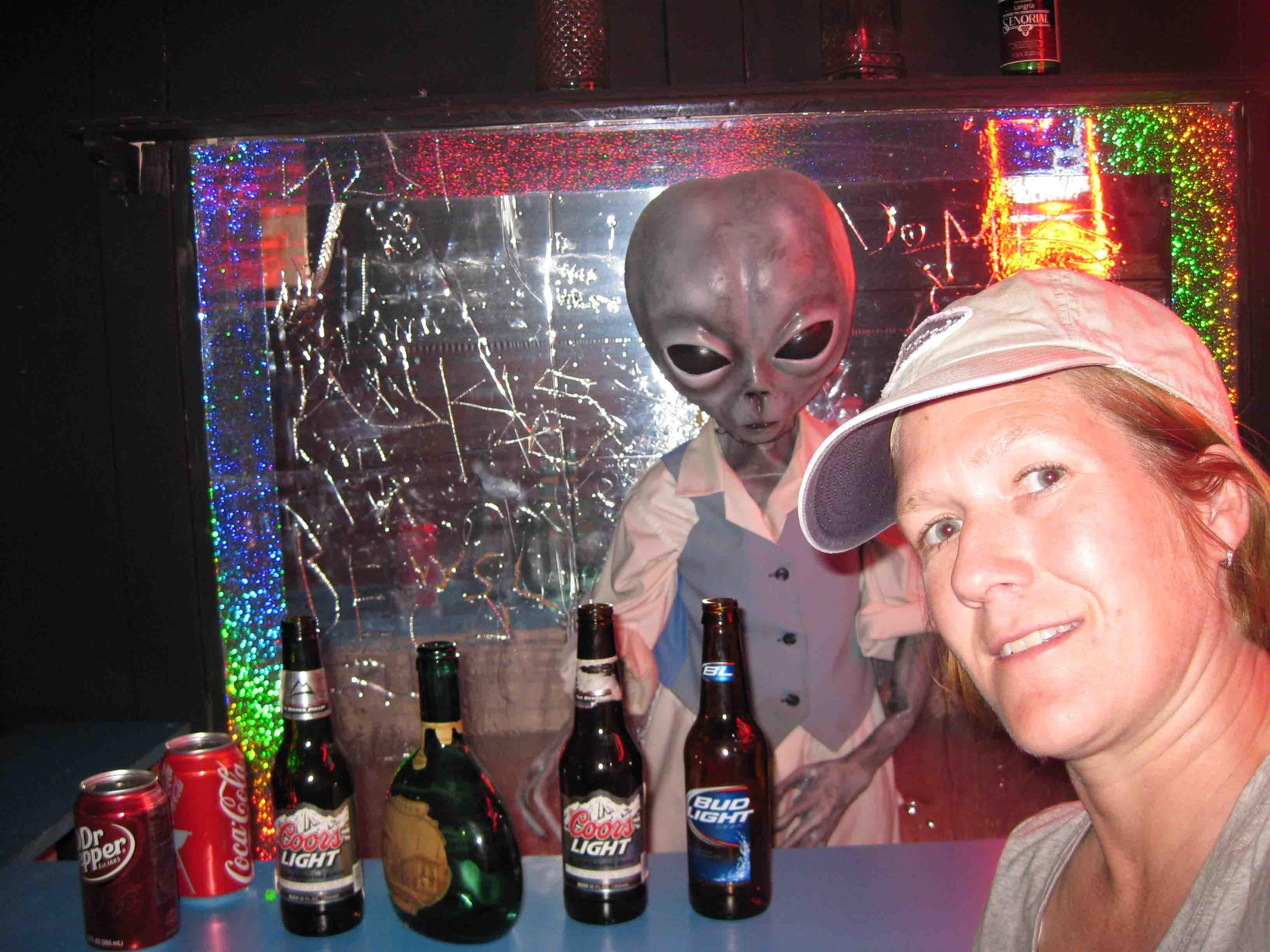 me at alien zone