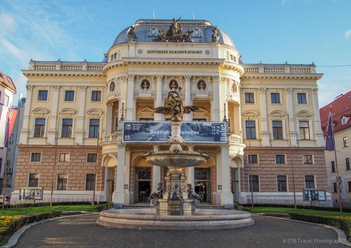 Slovak National Theatre in Bratislava