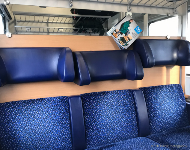 seats with adjustable headrests from Prague to Krakow