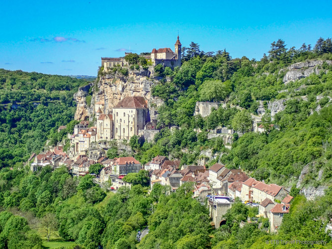 Rocamadour in the dordogne valley