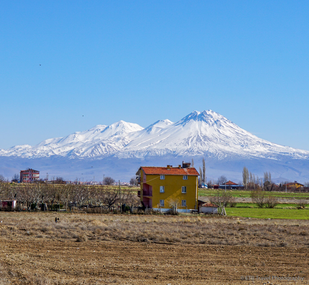 Mount Hasan in Turkey