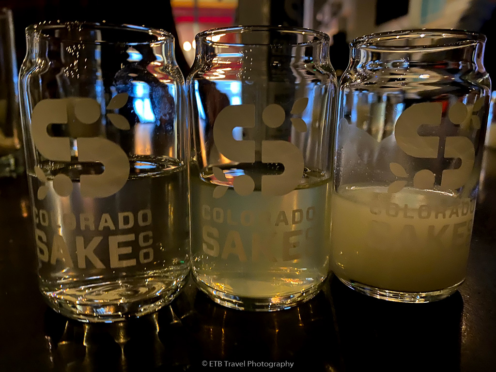 colorado sake co tasting