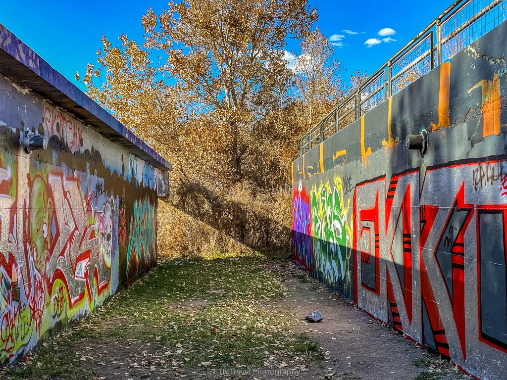 graffiti art at Carpio Sanguinette Park
